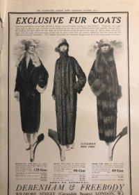 1924 Publicidad moda 27,2x38,6 cm