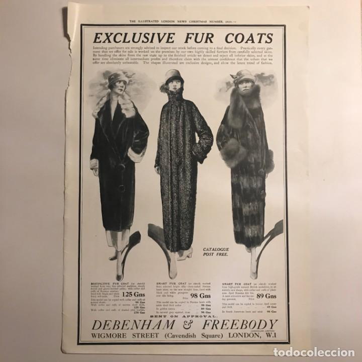 1924 Publicidad moda 27,2x38,6 cm - 153585978