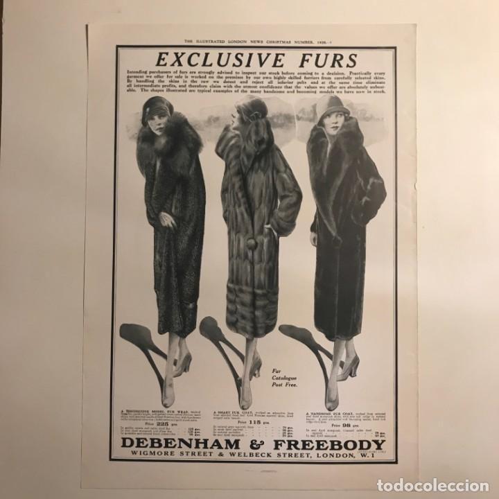 1926 Publicidad moda 27,2x38,6 cm - 153586098