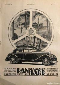 1935 Publicidad automóviles