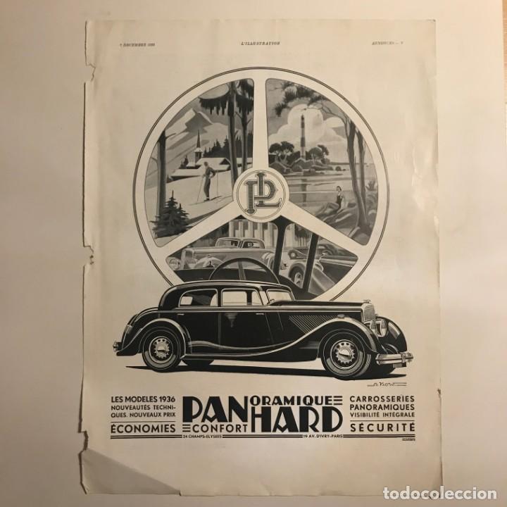 1935 Publicidad automóviles 28,4x38,1 cm - 153589050