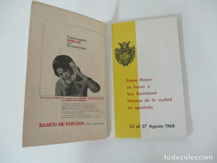 Catálogos publicitarios: Programa Fiesta Mayor Igualada - Noticias, Anuncios, Proyectos, Fotos - 134 Páginas - Año 1968 - Foto 2 - 153942170