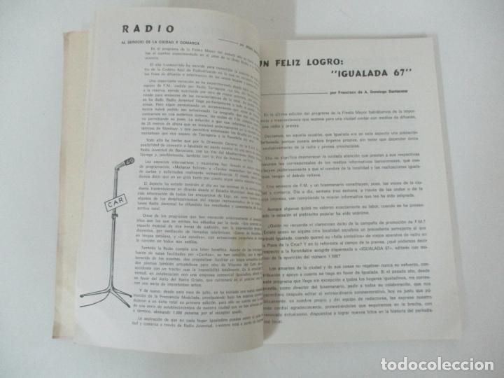 Catálogos publicitarios: Programa Fiesta Mayor Igualada - Noticias, Anuncios, Proyectos, Fotos - 134 Páginas - Año 1968 - Foto 4 - 153942170