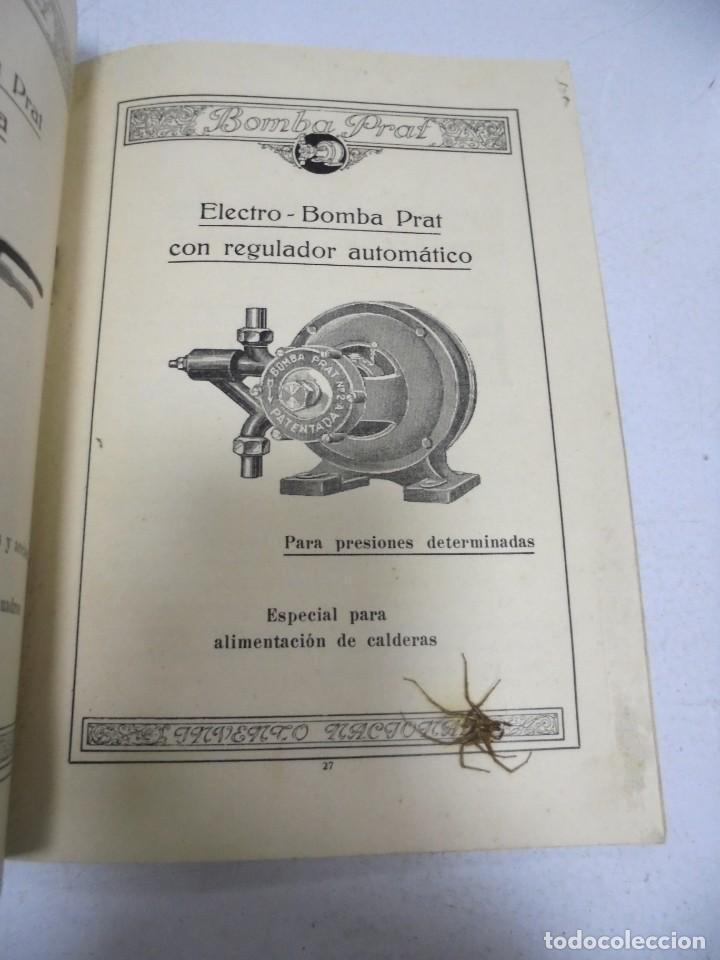 Catálogos publicitarios: CATALOGO PUBLICITARIO. BOMBA PRAT. ILUSTRADO. VER INTERIOR. AÑOS 50 - Foto 4 - 154098102