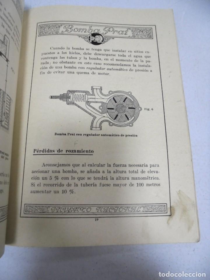 Catálogos publicitarios: CATALOGO PUBLICITARIO. BOMBA PRAT. ILUSTRADO. VER INTERIOR. AÑOS 50 - Foto 8 - 154098102