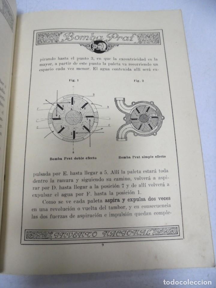 Catálogos publicitarios: CATALOGO PUBLICITARIO. BOMBA PRAT. ILUSTRADO. VER INTERIOR. AÑOS 50 - Foto 12 - 154098102