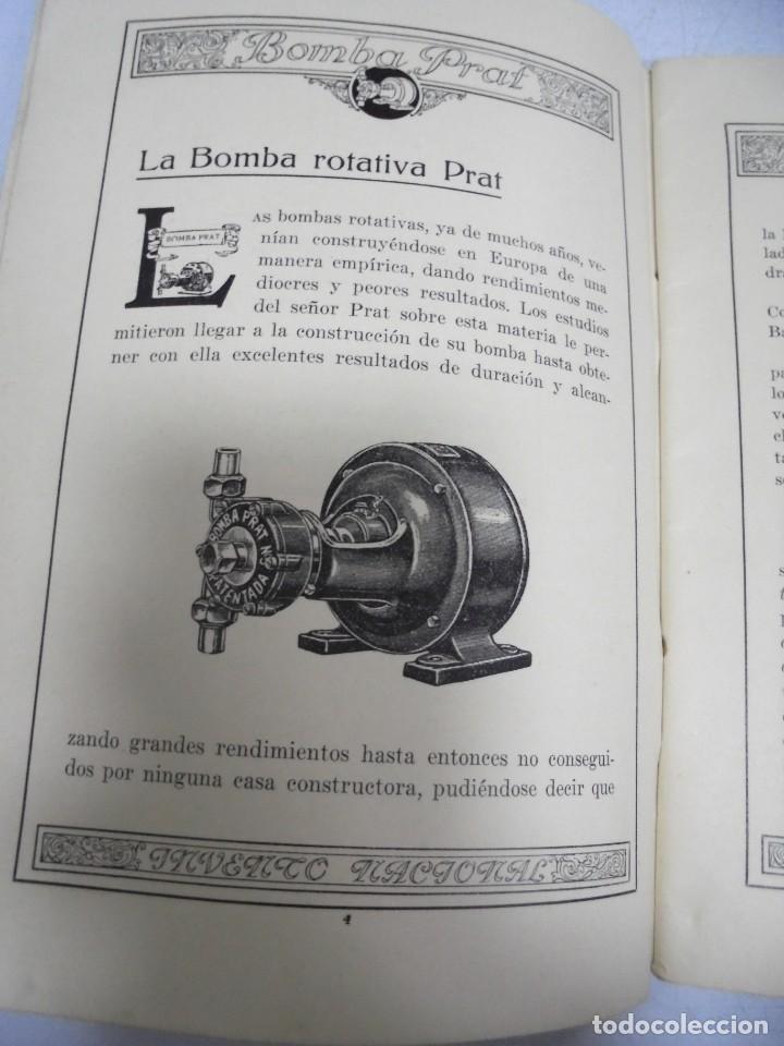 Catálogos publicitarios: CATALOGO PUBLICITARIO. BOMBA PRAT. ILUSTRADO. VER INTERIOR. AÑOS 50 - Foto 13 - 154098102