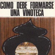 Catálogos publicitarios: VINOS YAGO.RIOJA SANTIAGO S.A. HARO( RIOJA ALTA ).FOLLETO TRÍPTICO PUBLICITARIO.AÑO 1967. Lote 154273854