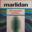 Catálogos publicitarios: CATÁLOGO N°10 PUBLICIDAD FARMACÉUTICA MARLIDAN 1980. Lote 154579170