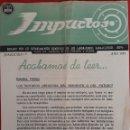 Catálogos publicitarios: FASCÍCULO CINCO IMPACTOS NOTICIAS MÉDICAS DIPTICO 1954. Lote 154591546