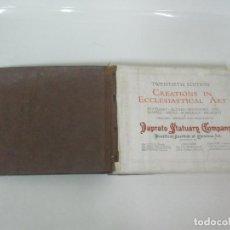 Catálogos publicitarios: IMPRESIONANTE CATÁLOGO PUBLICITARIO -DAPRATO STATUARG COMPANG,TALLER DE IMAGINERÍA RELIGIOSA-466 PAG. Lote 154769426
