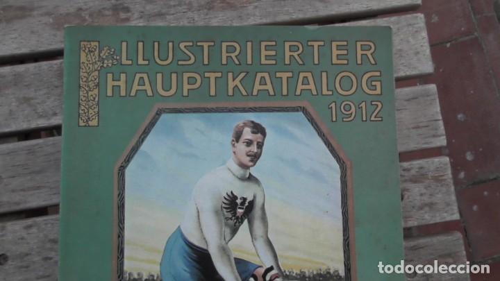 Catálogos publicitarios: CATALOGO ILUSTRADO 1912. AUGUST STUNKENBROK EINBECK. ALEMANIA - Foto 2 - 156539010