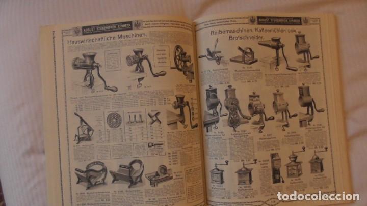Catálogos publicitarios: CATALOGO ILUSTRADO 1912. AUGUST STUNKENBROK EINBECK. ALEMANIA - Foto 8 - 156539010