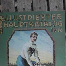 Catálogos publicitarios: CATALOGO ILUSTRADO 1912. AUGUST STUNKENBROK EINBECK. ALEMANIA. Lote 156539010