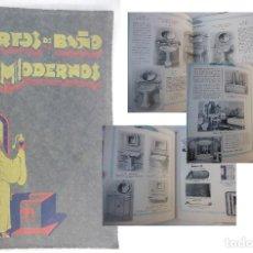 Catálogos publicitarios: CUARTOS DE BAÑO MODERNOS. SANFONTA. COOPERATIVA DE MATERIALES DE SANEAMIENTO Y FONTANERIA. Lote 156631558