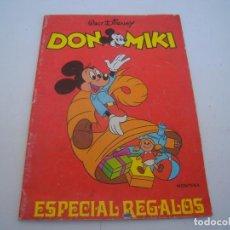 Catálogos publicitarios: CATALOGO DE JUGUETES DON MIKY ESPECIAL REGALOS. Lote 158300450
