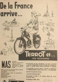 1960 Publicidad Terrot 18x25 cm