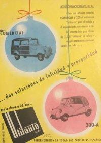 1957 Publicidad Utilauto