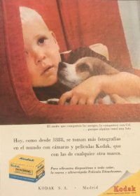 1957 Publicidad Kodak 18x25 cm