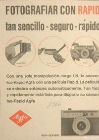 1966 Publicidad Agfa 18x25 cm