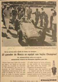 1959 Publicidad Champion