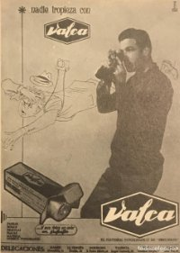 1959 Publicidad material fotográfico Valea 18x25 cm