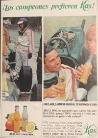 1967 Publicidad refresco Kas 18x25 cm