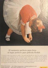 1963 Publicidad Kodak 18x25 cm