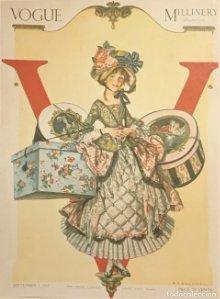Publicidad moda Vogue 18x25 cm
