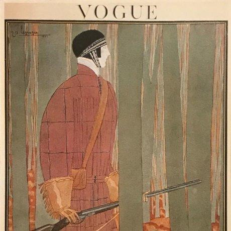 Publicidad moda Vogue 18×25 cm