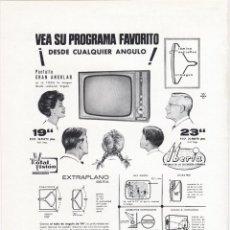 Catálogos publicitarios: HOJA PUBLICIDAD REVISTA ANTIGUA, TELEVISION IBERIA. Lote 158577706