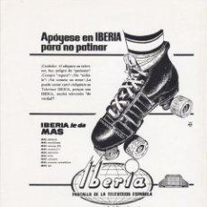 Catálogos publicitarios: HOJA PUBLICIDAD REVISTA ANTIGUA, TELEVISION IBERIA. Lote 158578706