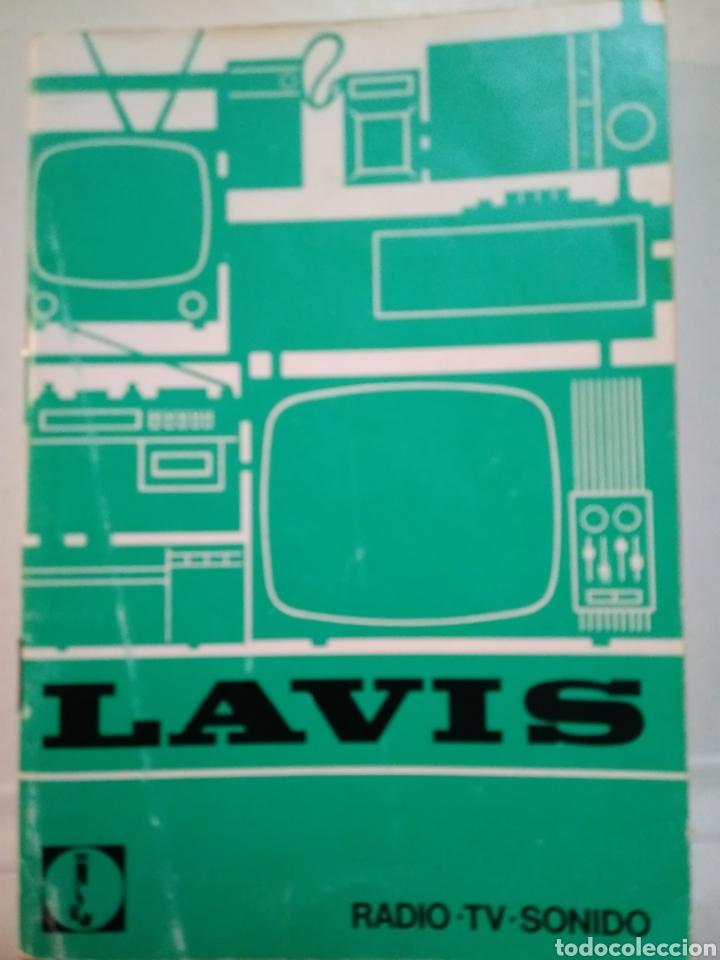 LAVIS. RADIO. TV. SONIDO. CATALOGO AÑOS 70. (Coleccionismo - Catálogos Publicitarios)
