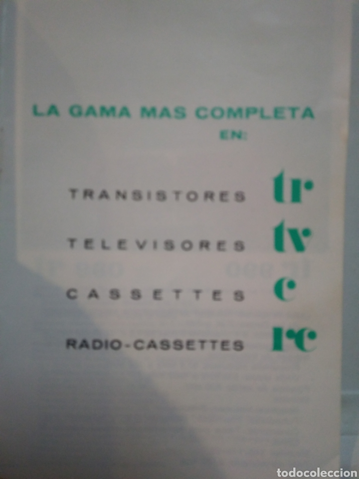 Catálogos publicitarios: LAVIS. RADIO. TV. SONIDO. CATALOGO AÑOS 70. - Foto 2 - 158729210