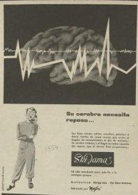 1954 Publicidad Ski-Jama 18,2x25 cm