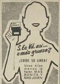 1957 Publicidad grageas para adelgazar Bon Korets