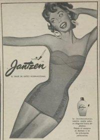 Publicidad antigua traje de baño Jantzen