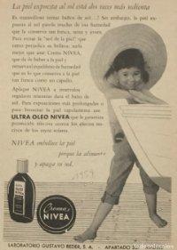 1959 Publicidad crema Nivea