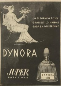 1959 Publicidad perfume Dynora, Juper