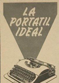 1958 Publicidad máquina de escribir Patria 18,2x25 cm