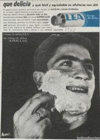 1966 Publicidad crema Lea 18,2x25 cm