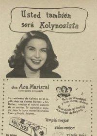 1954 Publicidad crema dental Kolynos