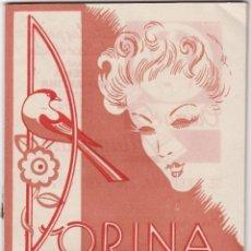 Catálogos publicitarios: LIBRILLO LISTADO DE PRECIOS DORINA, BARCELONA. Lote 159652326