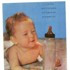 Catálogos publicitarios: PUBLICIDAD FARMACÉUTICA: HUBERAMIN, GRANULADO Y JARABE CONTRA ANOREXIA. Lote 39838759
