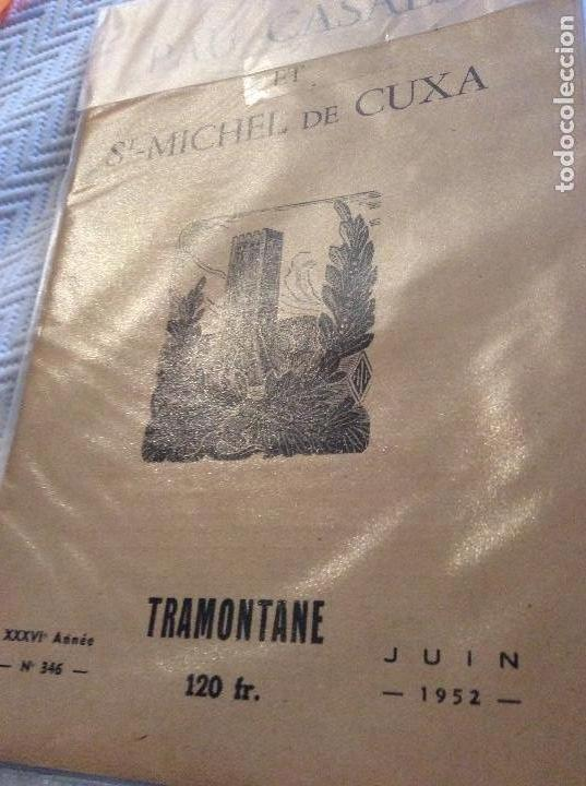 PAU CASALS ET ST MICHEL DE CUXA1952 (Coleccionismo - Catálogos Publicitarios)