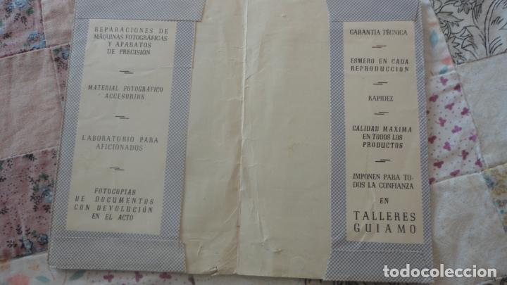 Catálogos publicitarios: ANTIGUO PORTANEGATIVOS.PUBLICIDAD.TALLERES GUIAMO.SEVILLA.INFONAL.GEVAPAN.VOIGTLANDER - Foto 2 - 160625250