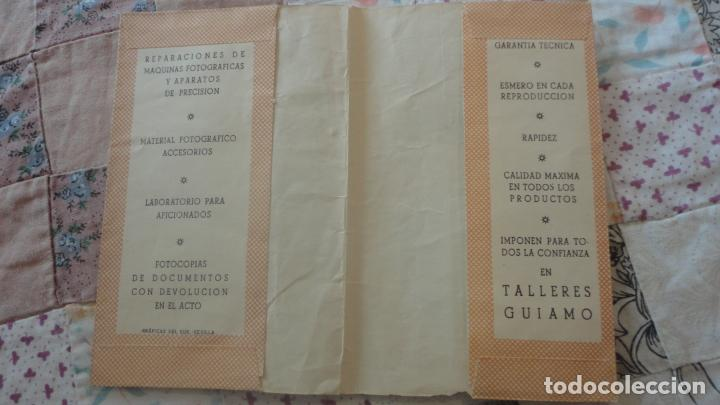 Catálogos publicitarios: ANTIGUO PORTANEGATIVOS.PUBLICIDAD.TALLERES GUIAMO.SEVILLA.INFONAL.GEVAPAN.VOIGTLANDER - Foto 2 - 160625406