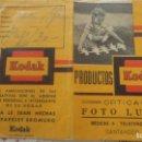 Catálogos publicitarios: ANTIGUO PORTANEGATIVOS.KODAK.OPTICA.FOTO LUDY.SANTANDER. Lote 160625974