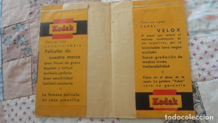 Catálogos publicitarios: ANTIGUO PORTANEGATIVOS.KODAK.OPTICA.FOTO LUDY.SANTANDER - Foto 2 - 160625974