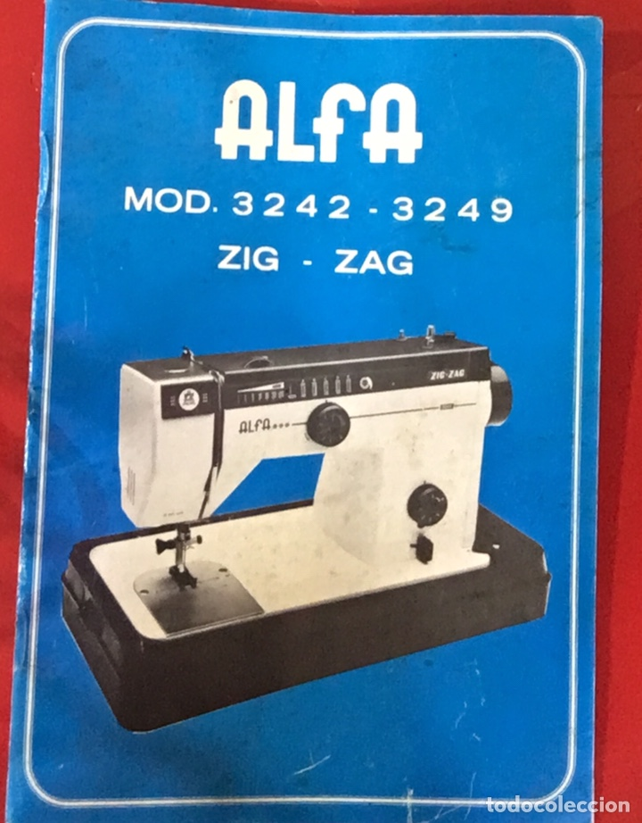Manual de instrucciones de la máquina de coser - Vendido